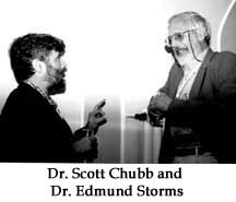 Dr. Scott Chubb and Dr. Edmund Storms